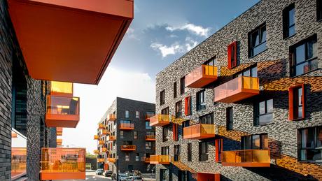 Groningen, Europapark: 'Een streepje zon op mijn balkon'