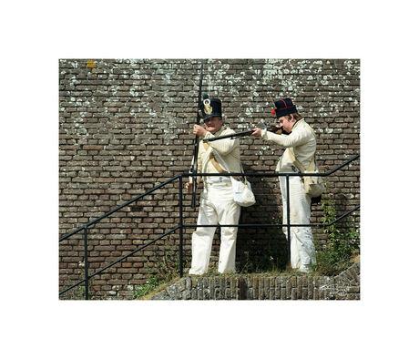 Fort Rammekes 1815 (12)De franse vechten terug