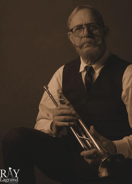 Vintage musician