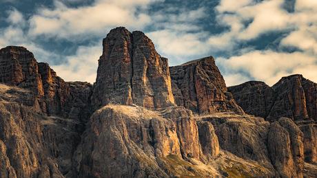 Dolomieten berg