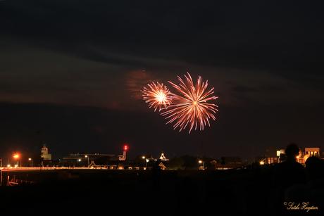 Vuurwerkshow Harlingen (2)