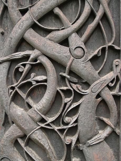 middeleeuws houtsnijwerk
