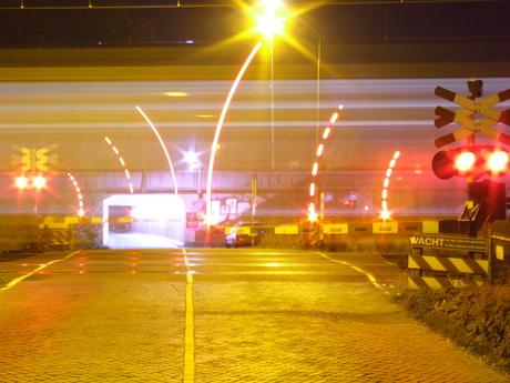 Passerende treinen