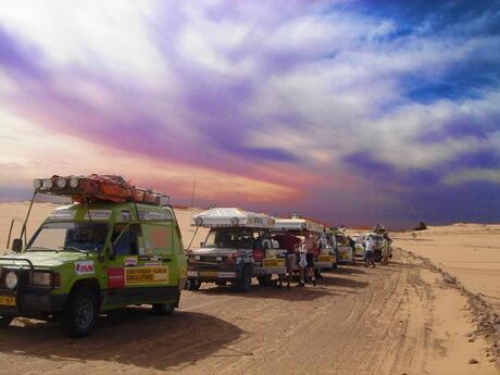 Ergens in de westelijke sahara