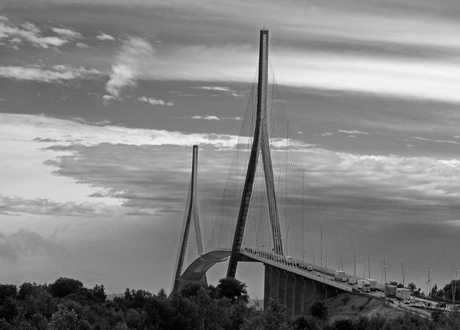 Pont de Normandie - Tuibrug Frankrijk