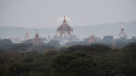 Tempels in Bagan Myanmar