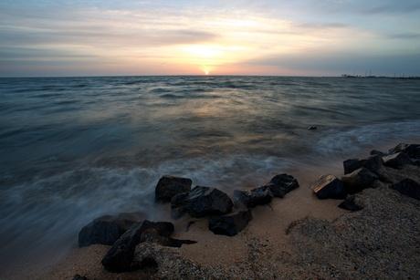 IJsselmeer bij zonsopgang