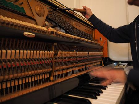 STEM,mer - Hij klinkt weer als muziek... [url=http://pietagterhoffotografie.nl/]Piet Agterhof Fotografie[/url] - foto door pietsnoeier op 28-10-2014 - deze foto bevat: beeld, geluid, piano, reflecties, beweging, stemmen, dof, bokeh