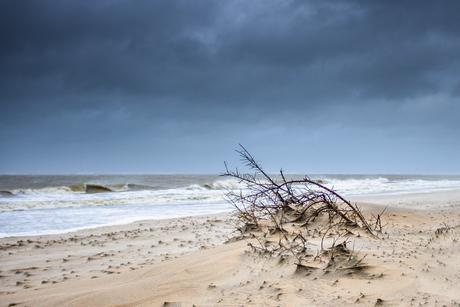 Storm Bella bereikt Ouddorp