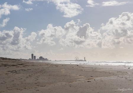Scheveningen - - - foto door LGphotography op 04-01-2021 - deze foto bevat: lucht, zon, strand, zee, water, natuur, landschap, scheveningen, zand, pier