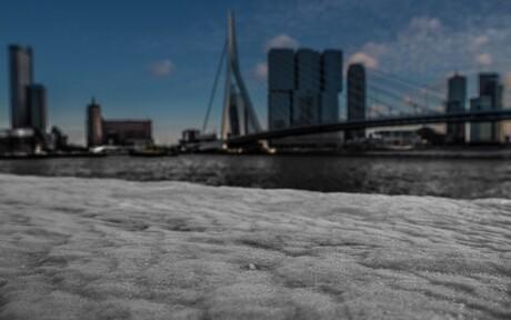 Rotterdam in de sneeuw