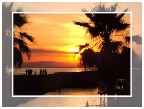 Side-sunset
