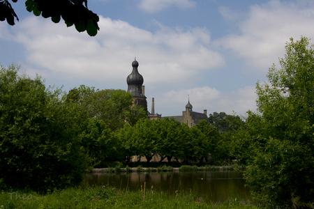 kasteel Gemen - Een kasteel van het bisdom Münster, tegenwoordig ook jeugdherberg - foto door TheoBteA op 18-05-2014 - deze foto bevat: kasteel, burcht, duitsland, borken, gemen