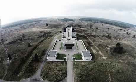 Radio Kootwijk vanuit de lucht