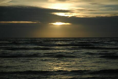 Avond aan het Strand