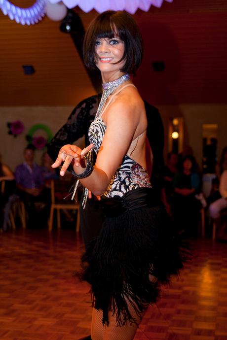 Latin dance demo