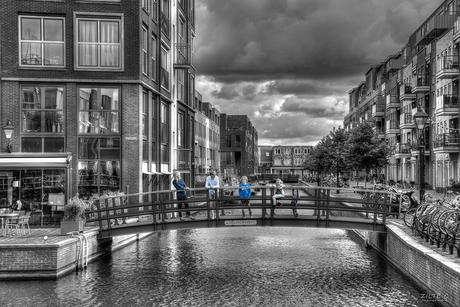 Photoshoot op locatie Alkmaar (Contrast)