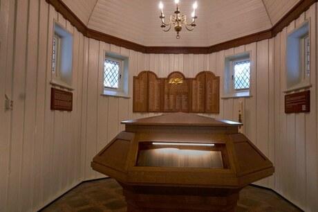 Binnenzijde Kapel Ereveld Loenen