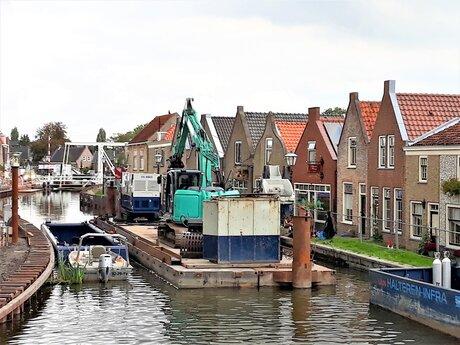 20211014 142536  Schipluiden Kade renovatie nr2  Zuidkant  ophaalbrug  14 okt 2021