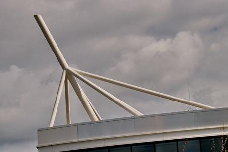 Het nieuwe AFAS gebouw Leusden.