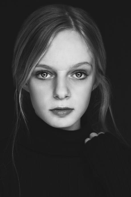 Aemilia ZwartWit portret
