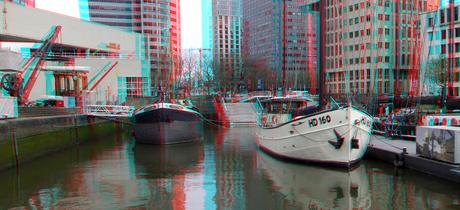 Boten Leuvehaven Rotterdam 3D