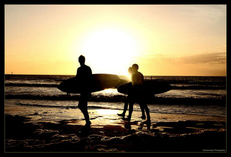 When surfing comes to an end...