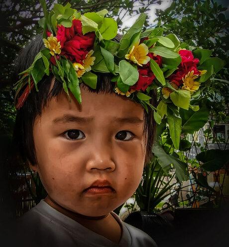 Het bloemenmeisje