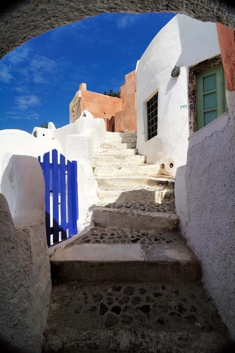 Doorkijkje Santorini