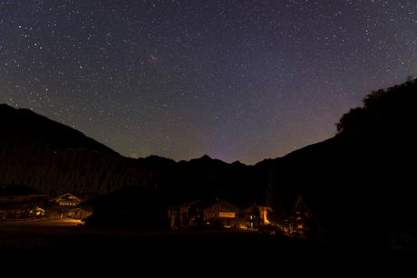 Alpbach at night