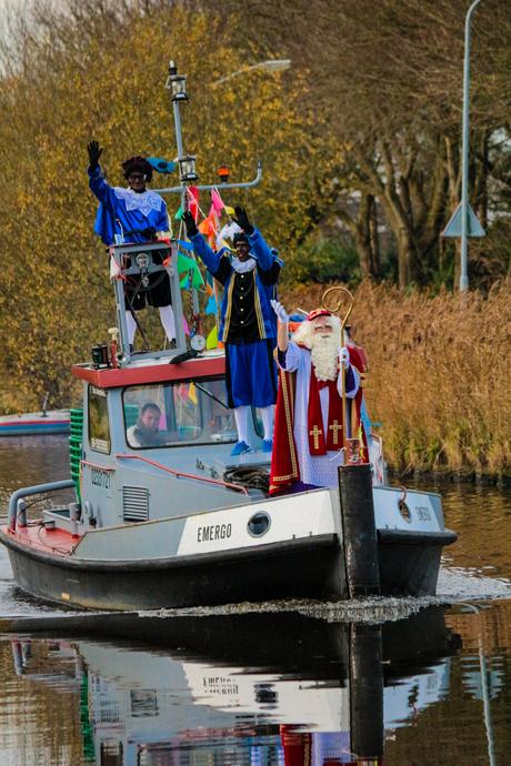 Sinterklaas intocht Foxhol