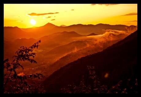 The hills of Montenegro