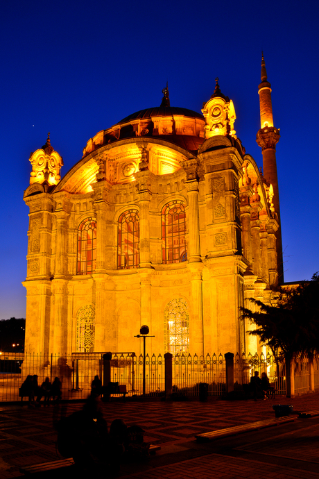 Ortakoy Moskee in Istanbul