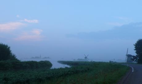 Zomaar een ochtend in de mist