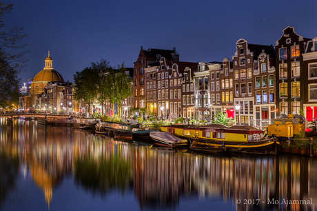 Amsterdam - Singelgracht by Night