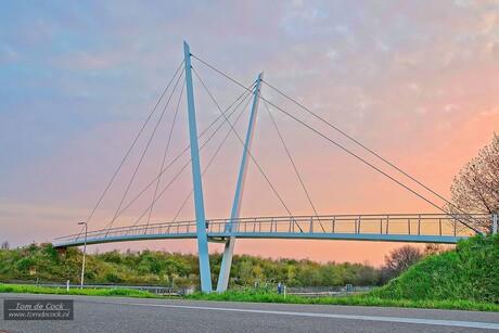Voetgangersbrug Urmond