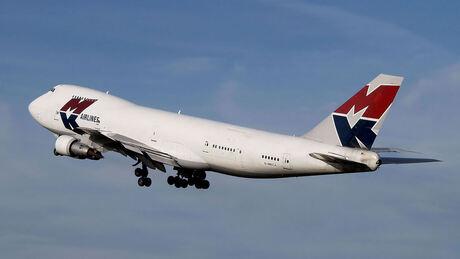 747 vertrek