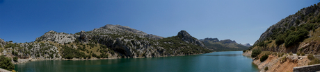 Panorama stuwmeer Mallorca