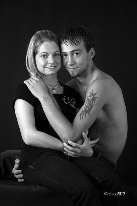 Tommie en Jorina.