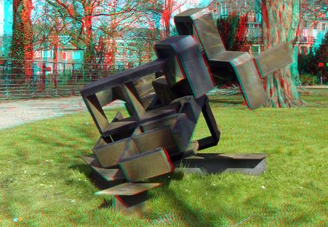 Stad in beeld-beeld in Park  Park Merwestein Dordrecht 3D
