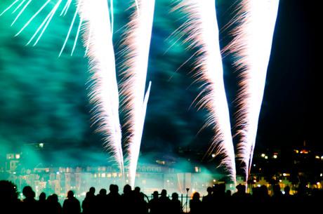 Vuurwerk zomerfeesten nijmegen 2