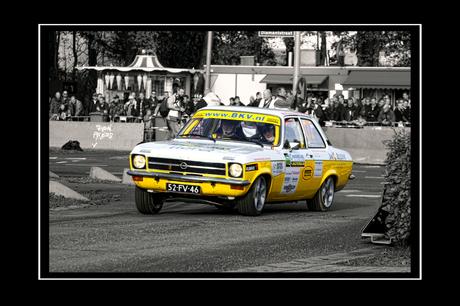 Old School Rally Car