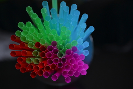 Straw experimenting