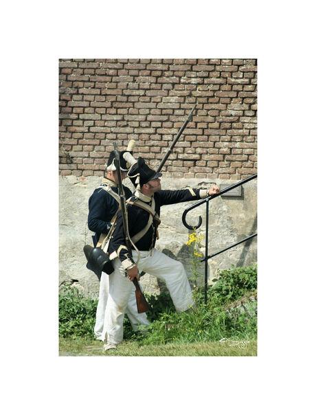 Fort Rammekes 1815 (12)De aanval word ingezet