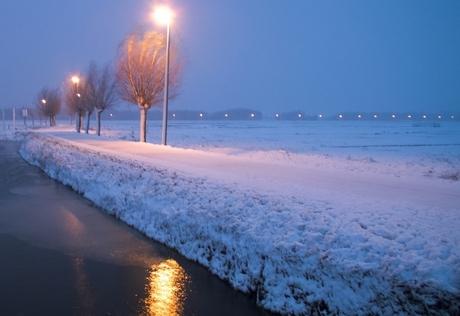 Eindelijk weer sneeuw!!!