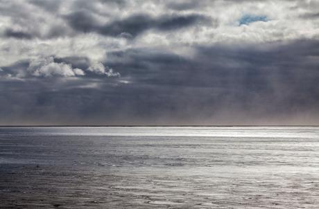 Water en wolken