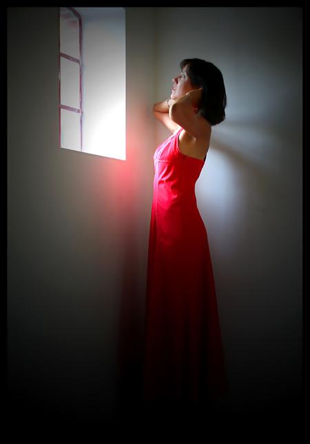 .. the red dress .. - voor de reacties bij de vorige upload mijn dank.  tip: even volledig zien.  ik wens jullie een prettige dag.  gr. christine. - foto door christinel op 21-01-2010 - deze foto bevat: jurk, christinel.
