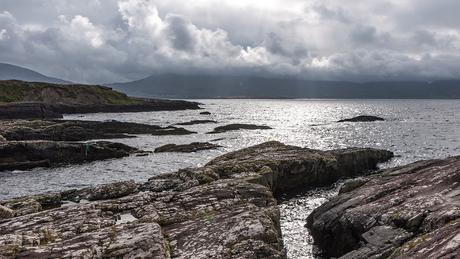 Zonnetje over de Kenmare Bay, Ierland