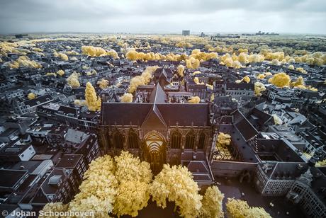 Utrecht vanaf de Dom