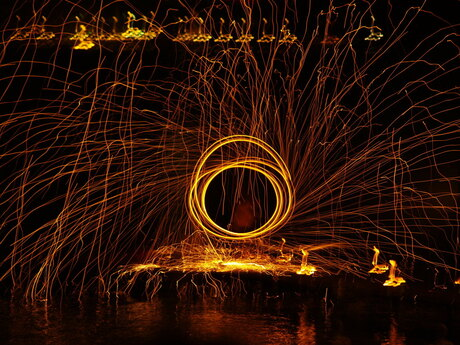 Vuurwerkbollen